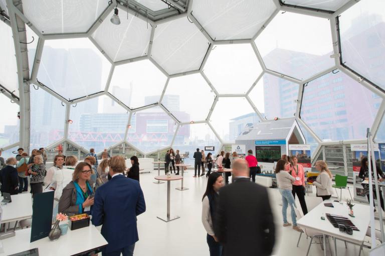 rotterdam marijniz drijvend paviljoen rijnhaven duurzaamheid innovatie resilience