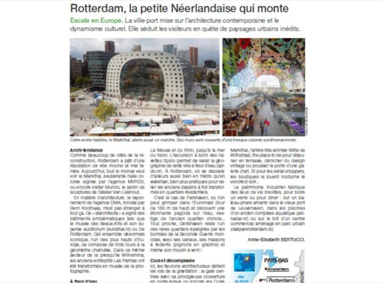 Rotterdam in de media Ouest