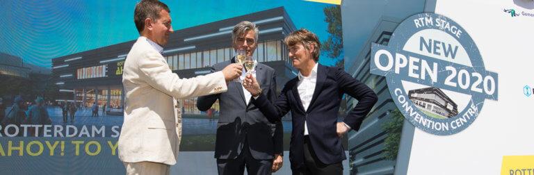 Official start construction Rotterdam Ahoy Convention Centre