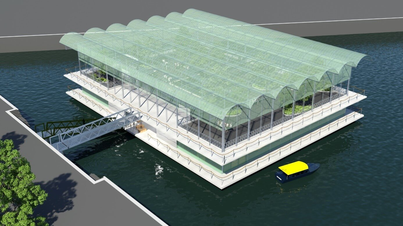 Floating Farm, Rotterdam