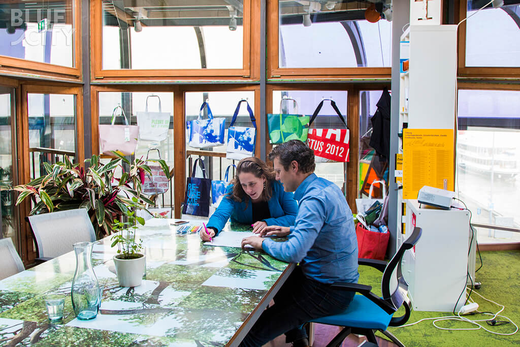 """""""It's so easy for young entrepreneurs to get started in Rotterdam."""