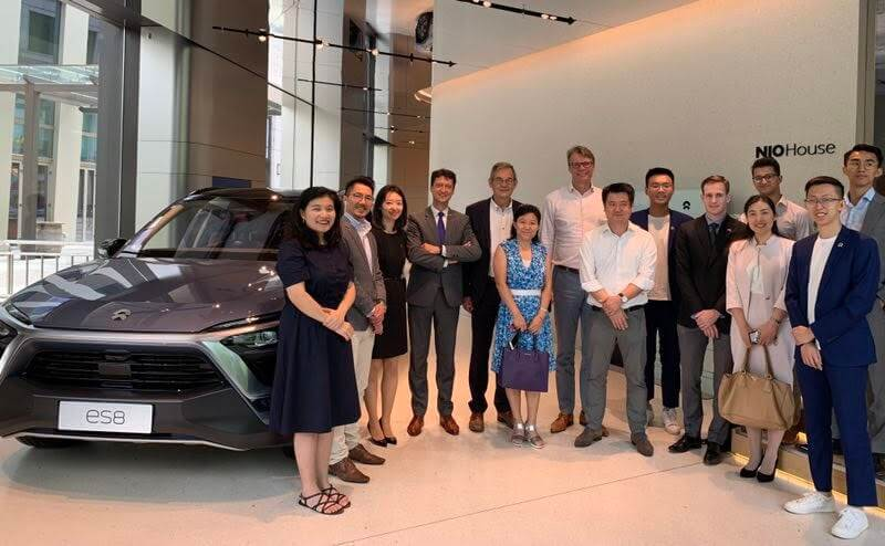 Day 5: Visit to next-generation car company NIO