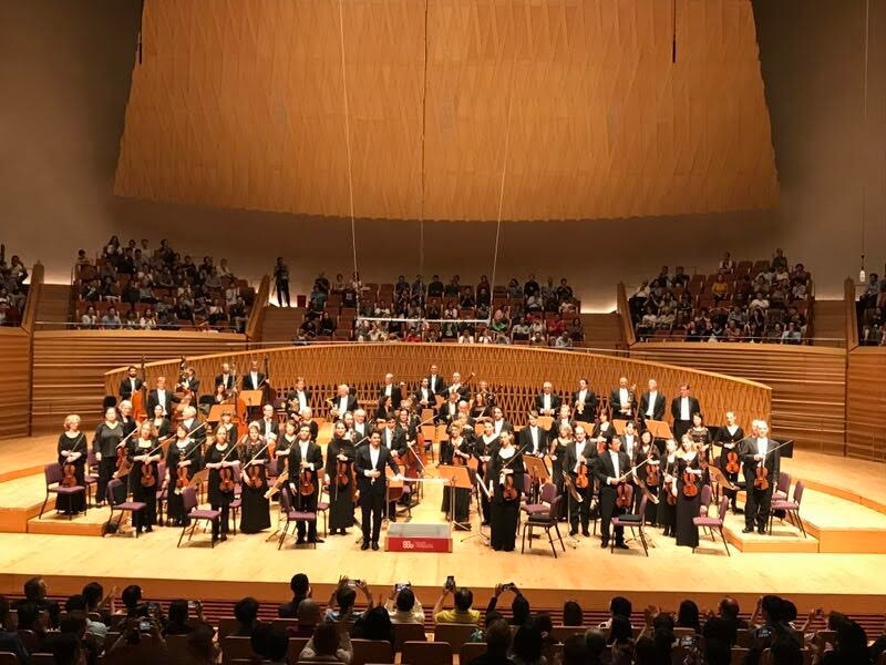 Day 4: Rotterdam Philharmonic Orchestra played at Shanghai Symphony Orchestra Hall as part of their Asia Tour 2019