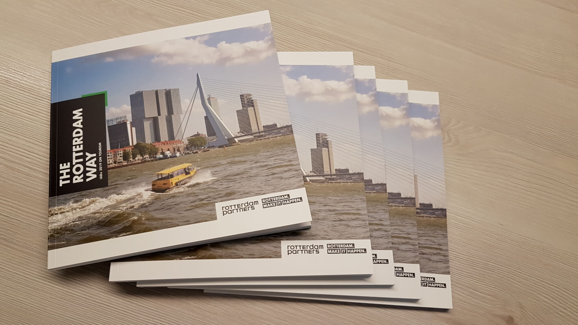 Het IABx Toerisme rapport 'The Rotterdam Way'