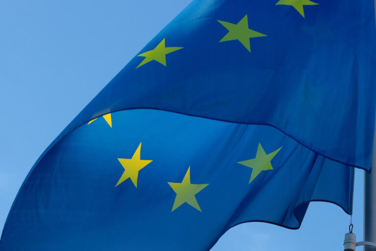 Picture of EU flag