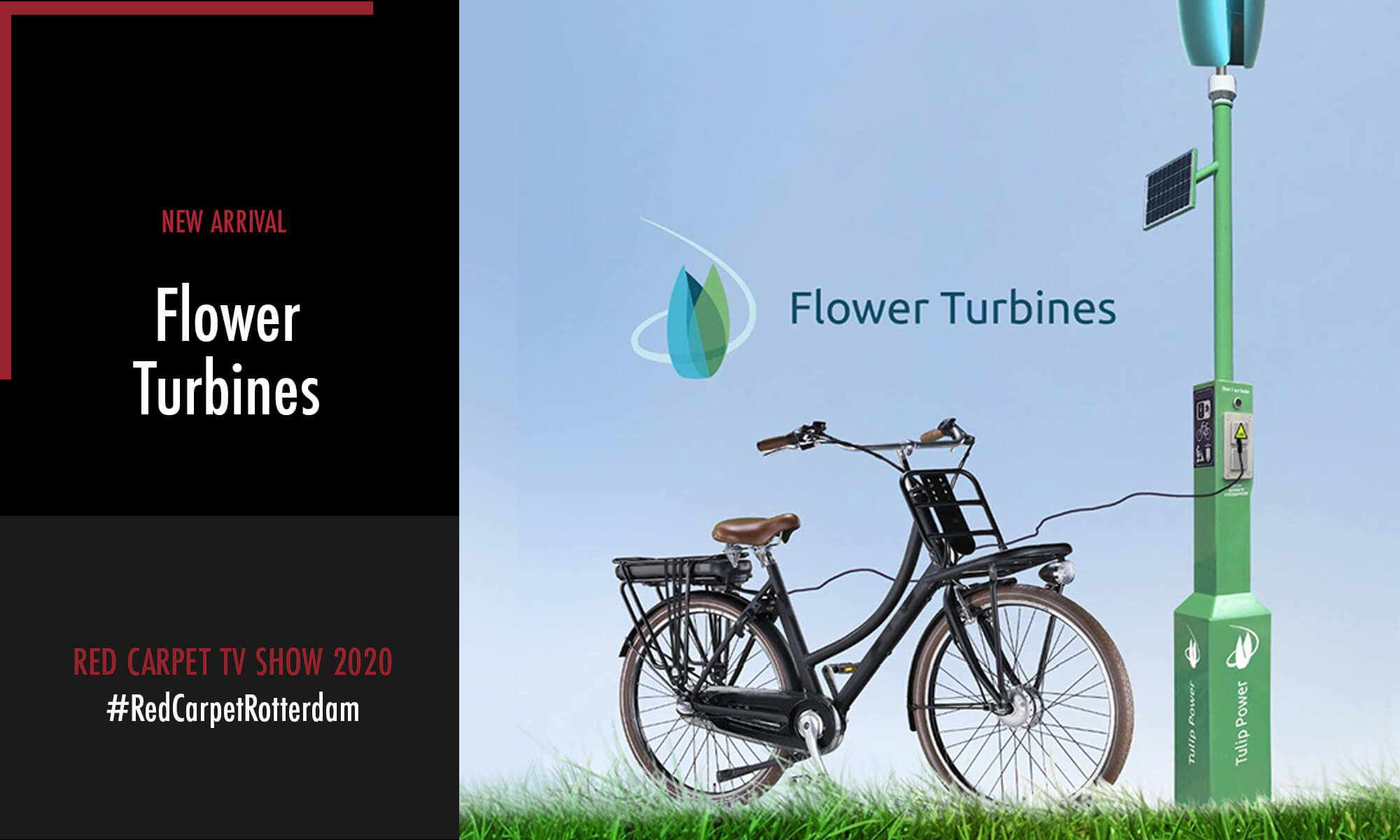 Flower Turbines is one of the new arrivals participating in the Red Carpet TV Show 2020