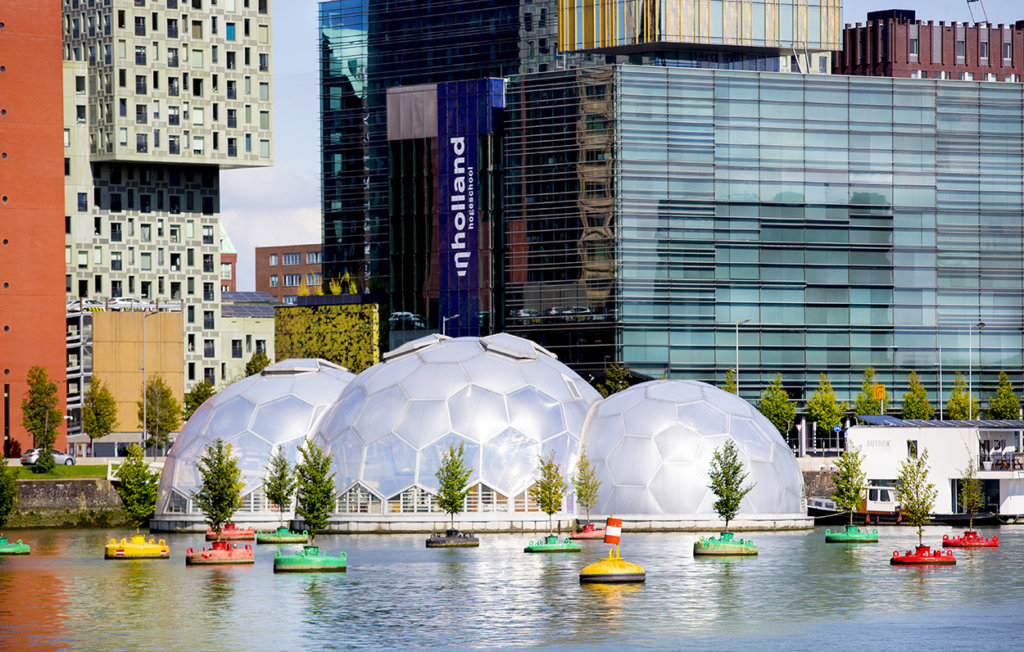 Drijvend Paviljoen Rotterdam