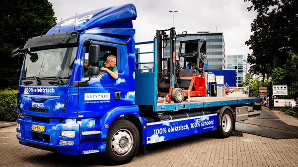 Breytner Rotterdam Electric trucks