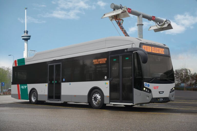 E-bus fleet Rotterdam