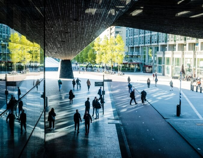 Rotterdam Centraal Station. Photo: Nick Staal