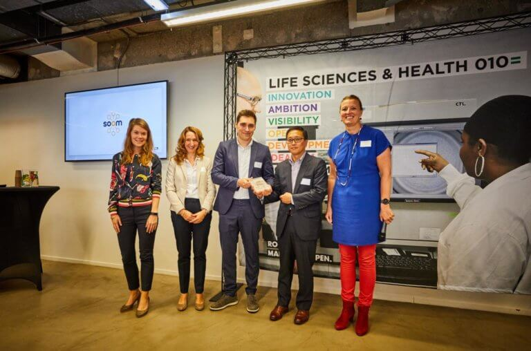 Photo: Health-tech start-up Soom opens new Rotterdam Office