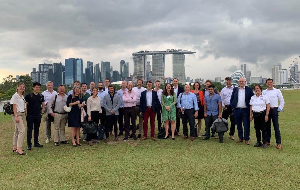 #RotterdamSingapore #CleanTech mission 2019, day 1: the Rotterdam delegation