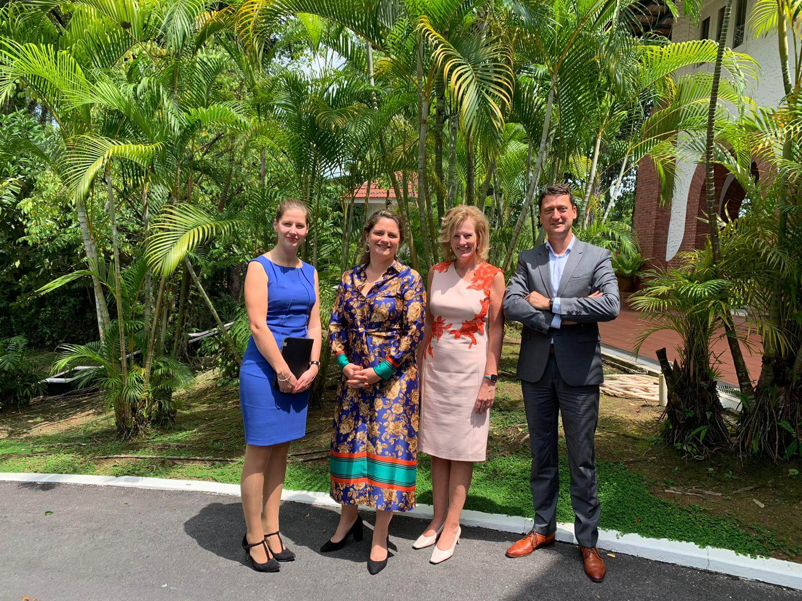 #RotterdamSingapore #CleanTech mission 2019: delegation welcomed by Ms. Margriet Vonno, Ambassador of the Netherlands to Singapore and Brunei.
