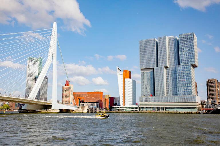 De Rotterdam Building bij OMA / Rem Koolhaas