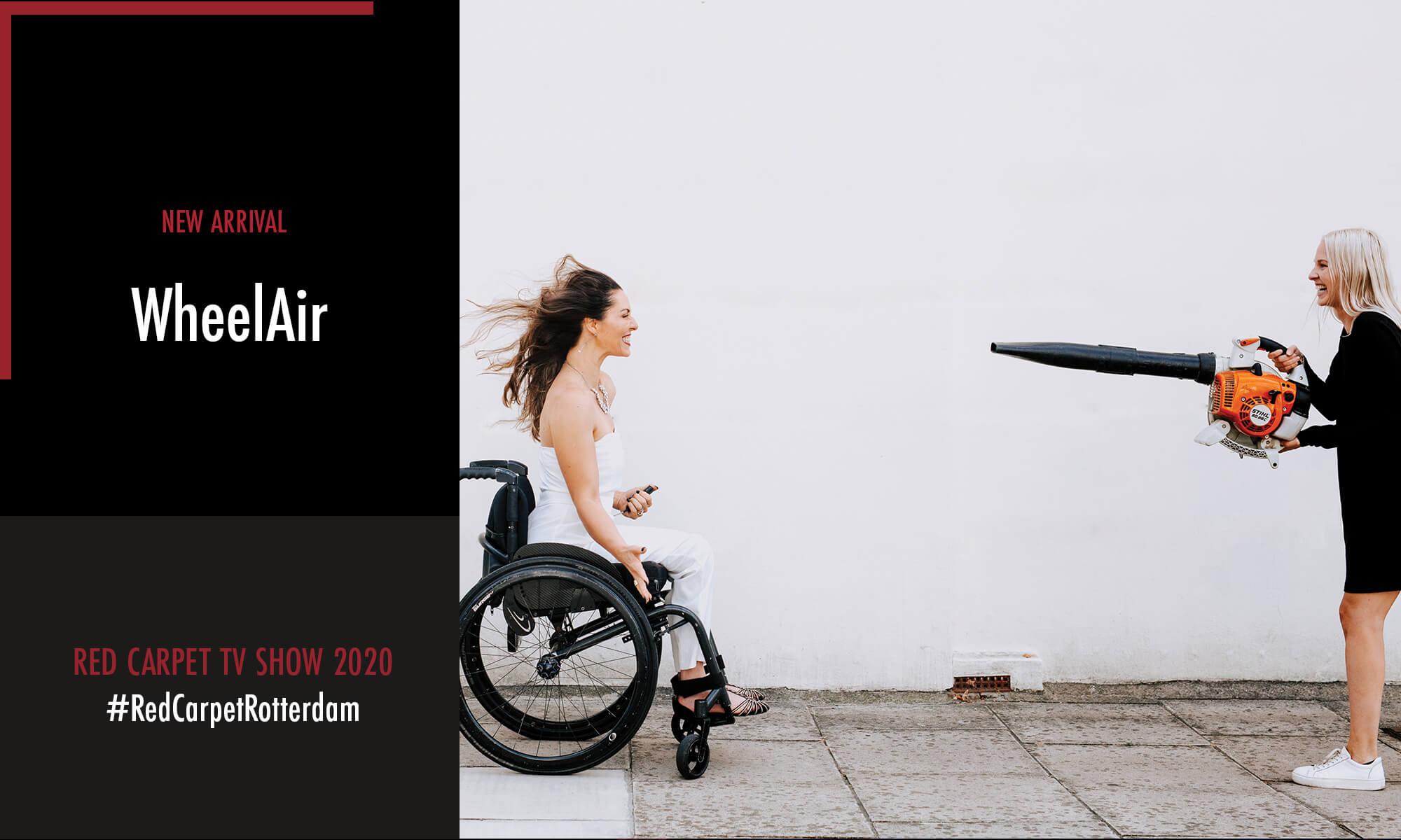 WheelAir is one of the new arrivals participating in the Red Carpet TV Show 2020
