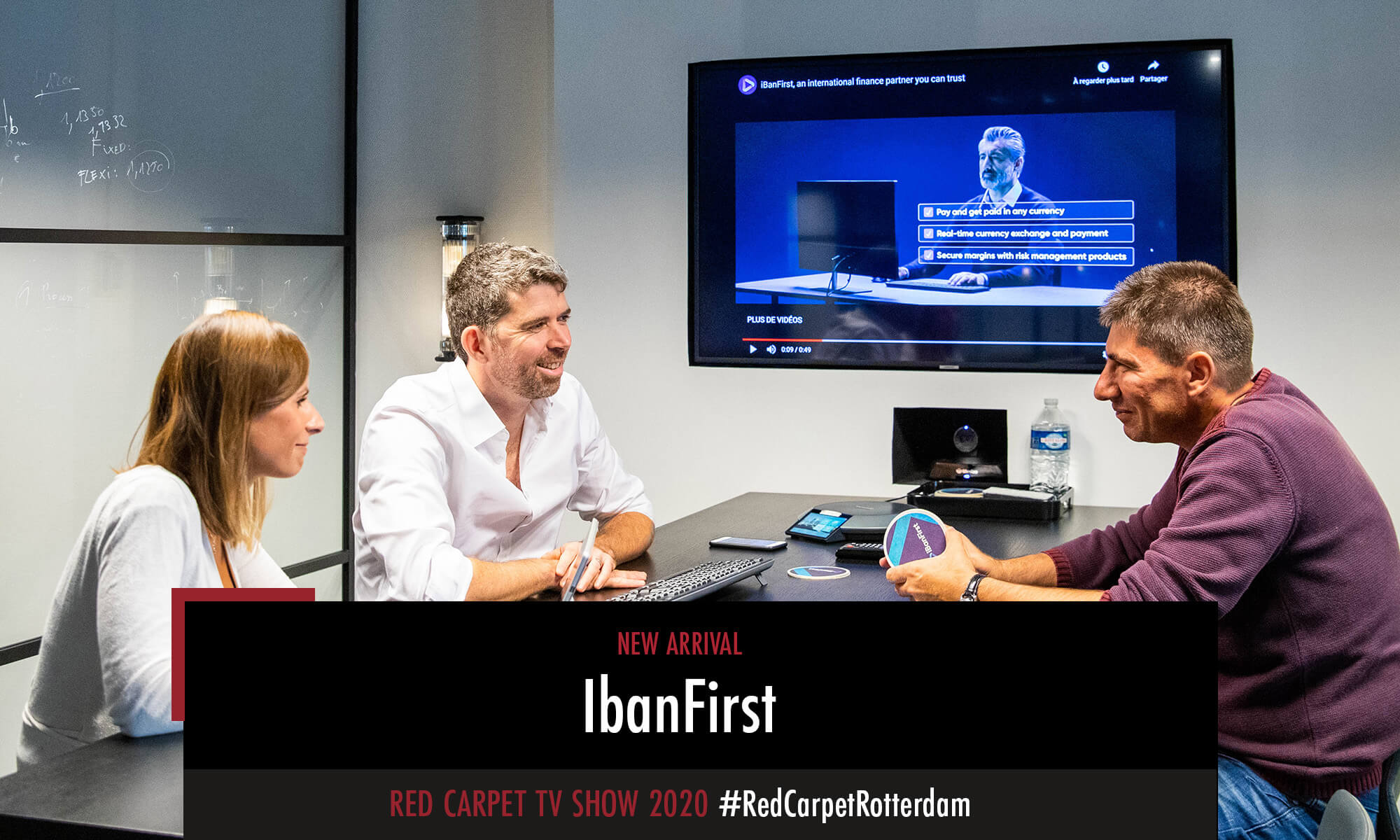 IbanFirst is one of the new arrivals participating in the Red Carpet TV Show 2020