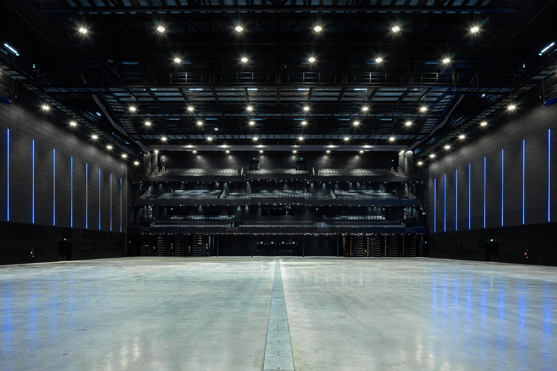 Impression of the new Rotterdam Ahoy Convention Centre.